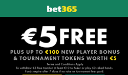 bet365 casino review bonus